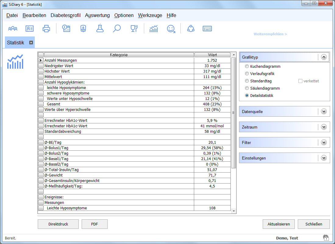 sidiary.de - SiDiary Screenshots und Funktionsübersicht